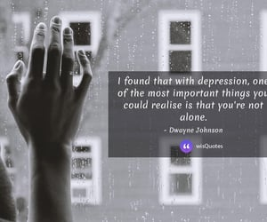 alone, important, and depression image