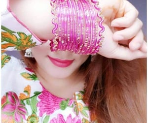 bangles, hairstyle, and pretty image