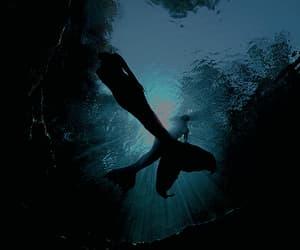 magical, mermaids, and ocean image