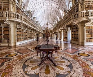 library, place, and scenery image