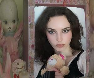 aesthetic, creepy, and girl image