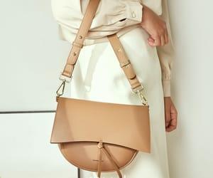 brown bag, fashion, and shoulder bag image
