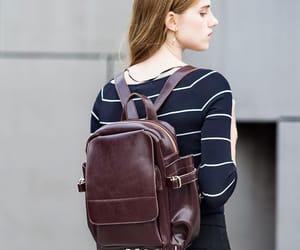 backpacks, leather bag, and coffee bag image