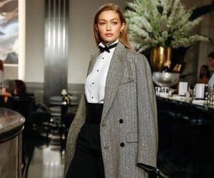 fashion, ralph lauren, and gigi hadid style image