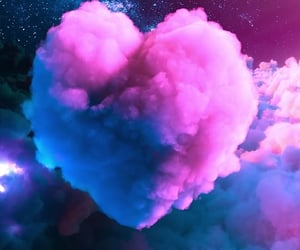 pink, purple, and heartit image