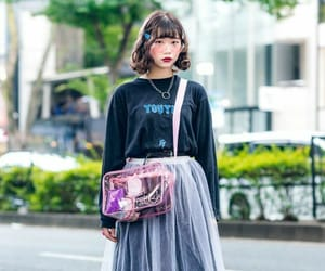 clothes, colors, and tokyo image