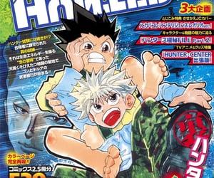 hxh, manga anime, and killua image