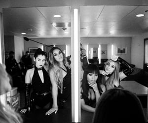 b&w, girls, and ally brooke image