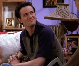 chandler bing, Matthew Perry, and young image