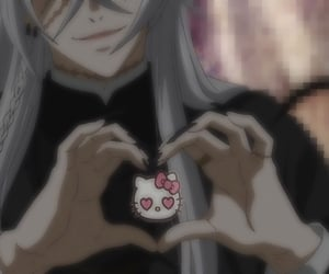 anime, webcore, and black butler image
