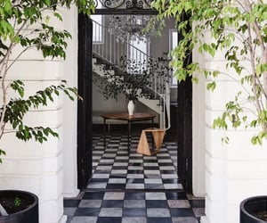 door, home, and idea image