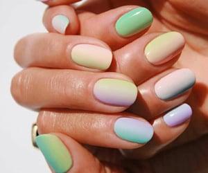 nailart, uñas, and manicure image