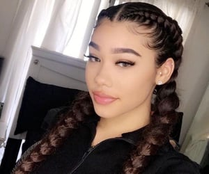 beautiful, curls, and light skin image
