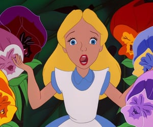 alice in wonderland, screencaps, and caption this image