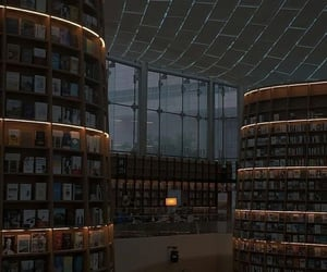 location, aesthetic, and books image