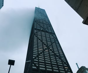 chicago, cities, and skyscraper image