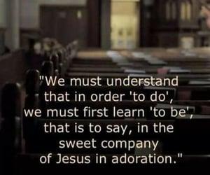 contemplation, prayer, and katholisch image