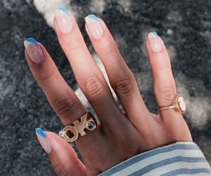 aesthetic, jewels, and nail image