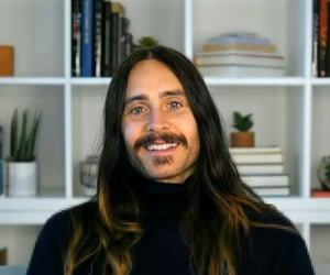 30 seconds to mars, jared leto, and mustache image