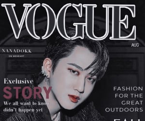 Vouge, skz, and changbin image
