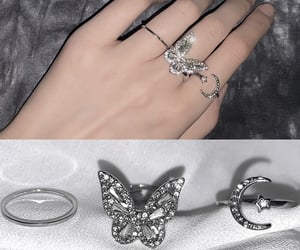 fashion rings, butterfly rings, and ring sets image