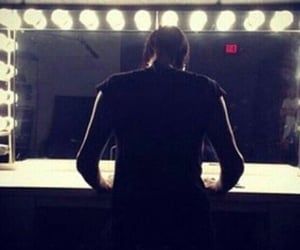 mirror, infamous, and motionless in white image