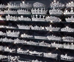 crowns, fashion, and silver image