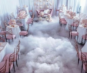 pink, style, and clouds image