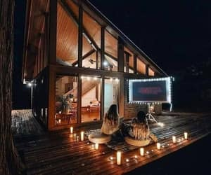 chilling, outdoor cinema, and outdoor ideas image