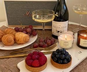 croissant, dessert, and food image