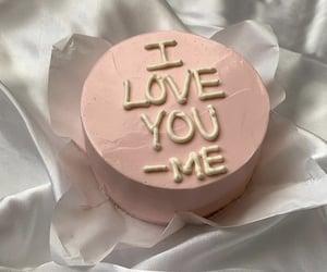 cake, food, and self love image