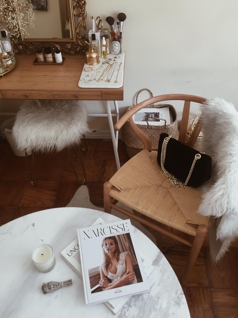 home, interior, and bag image