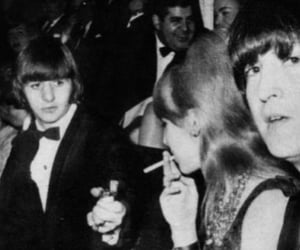 john lennon, ringo starr, and cynthia lennon image