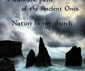 church, nature, and ancients image