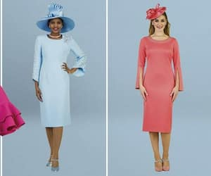 womens church suits and church dresses image