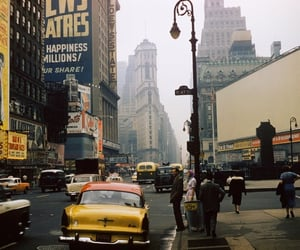 aesthetic, city, and vintage image