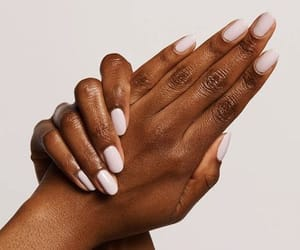 black woman, nails, and aesthetic nails image