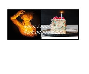 anime, birthday, and candle image