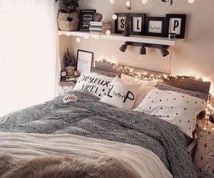 bed, girly, and random image