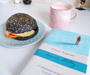book, morning, and еда image