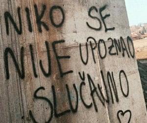 Croatia, grafiti, and quotes image