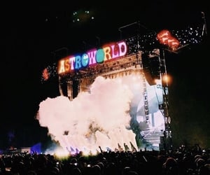 festival, astroworld, and fun image