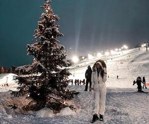 christmas, finland, and snow image