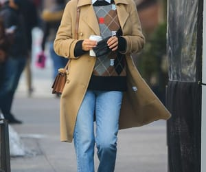 fall fashion, Burberry, and model style image