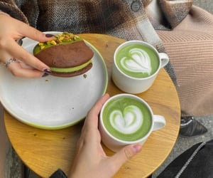 cafe, green, and life image