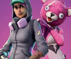 battle royale, fortnite, and game image