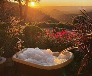 bath, nature, and travel image