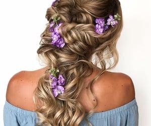 beauty, girl, and hair image