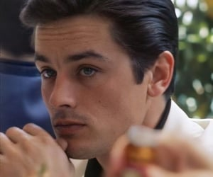 Alain Delon, celebrity, and classy chic charm luxury image