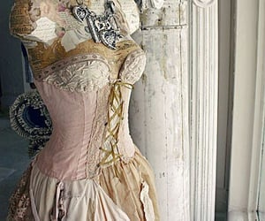 dress, fashion, and goth image